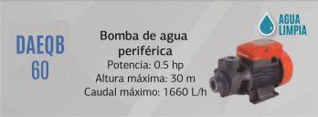 Bomba De Agua Periferica Centrifuga 220v Daewoo Daeqb60