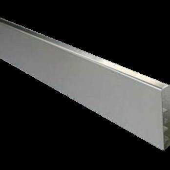Zocalo Square 12x80x2500mm Acero Inoxidable-Esmerilado Atrim