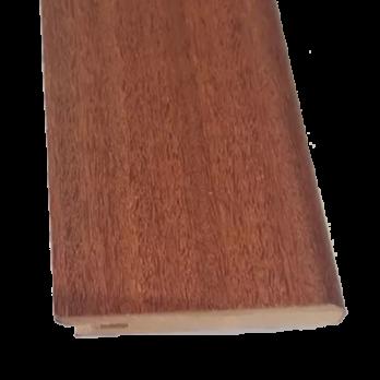 Zocalo Prefinished/Enchapados Madera 7cm En Varios Colores