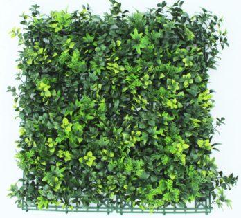 Jardin Vertical Artificial Pvc Muro Verde Decoredes Soft Mix (27A)