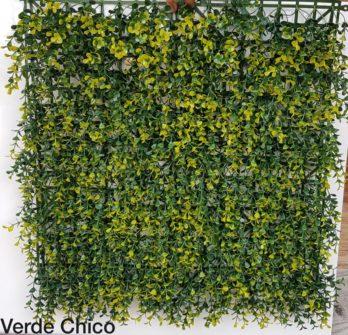 Jardin Vertical Artificial Pvc Muro Verde Decoredes Verde Chico (6052)