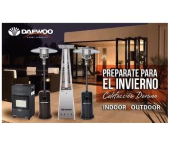 Calentador De Exteriores Dazcgb-a Daewoo 14kw