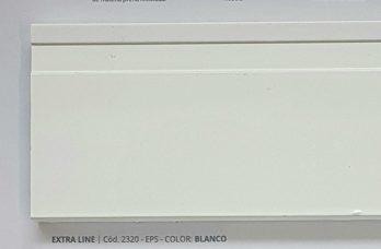 Zocalo De Pvc 10cm Canto Buña Varios Colores