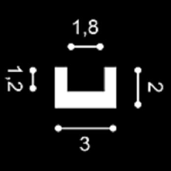 Cornisa De Pvc Cubre Led Techo / Pared Cx190